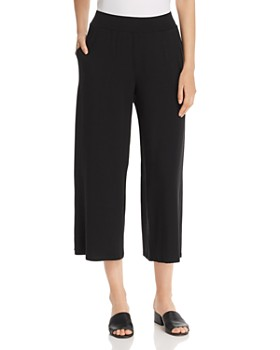 Eileen Fisher Petites - Cropped Wide-Leg Pants