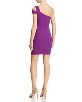 LIKELY - Packard One-Shoulder Mini Sheath Dress