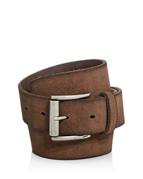 John Varvatos Star USA - Men's Suede Belt
