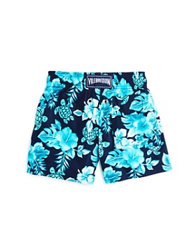 Vilebrequin - Boys' Jirise Jii Turtle-Print Swim Shorts - Little Kid, Big Kid