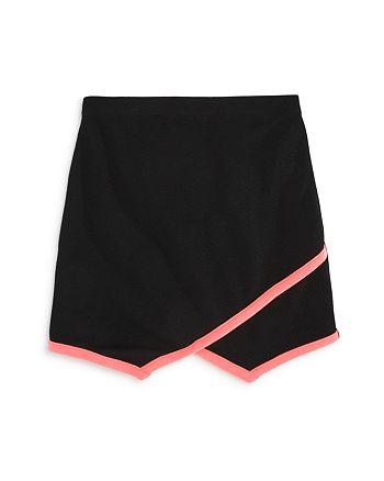 AQUA - Girls' Neon Trim Skirt, Big Kid - 100% Exclusive