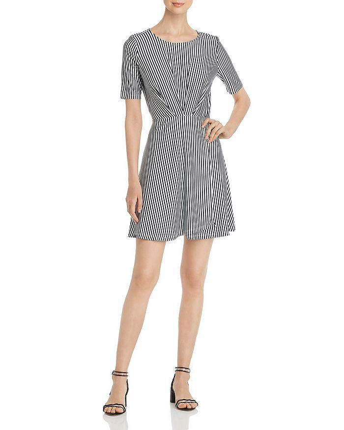 Vero Moda - Pleated Striped Dress