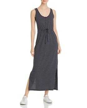 eda700532fc65 Vero Moda - Daina Striped Tie-Detail Maxi Dress ...