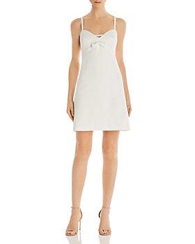 Betsey Johnson - Betsy Bow-Detail Scuba Dress