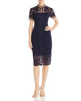Eliza J - Illusion Lace Dress