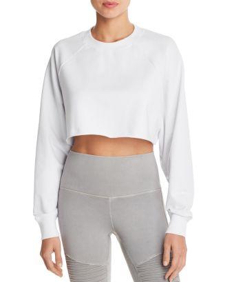Double Take Cropped Sweatshirt by Alo Yoga