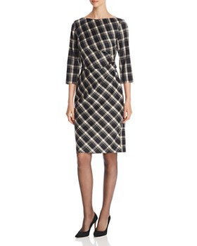 Weekend Max Mara - Fiorina Gathered Plaid Dress