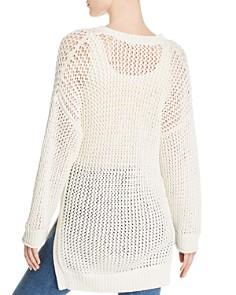 Joie - Delmon Openwork Knit Tunic