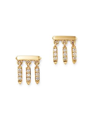 Bloomingdale's Diamond Droplet Earrings in 14K Yellow Gold, 0.25 ct. t.w. - 100% Exclusive