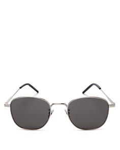 Saint Laurent - Women's Round Sunglasses, 50mm