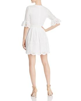 AQUA - Scalloped Eyelet Dress - 100% Exclusive