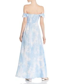 4c1b0ff4 ... AQUA - Tie-Dye Off-the-Shoulder Maxi Dress - 100% Exclusive