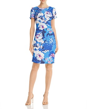 df2cc538f76 Adrianna Papell - Floral Sheath Dress ...