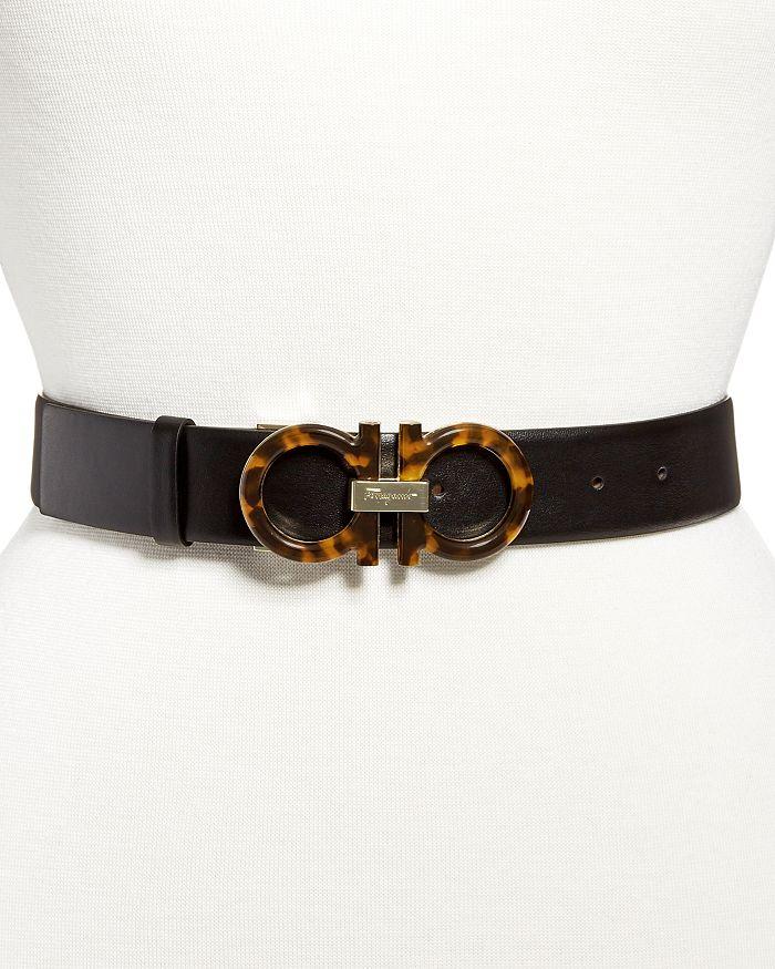 Salvatore Ferragamo - Women's Gancini Leather Belt