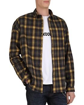 The Kooples - Felted Checks Regular Fit Shirt