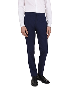 The Kooples Micro-Houndstooth Slim Fit Trousers