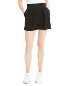 Theory - Pleated Mini Shorts