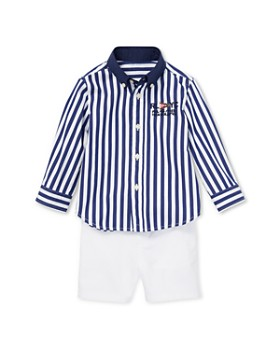 Ralph Lauren - Boys' Striped Shirt & Chino Shorts Set - Baby