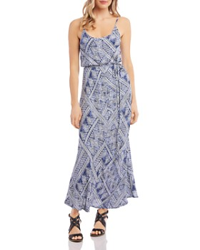 Karen Kane - Sleeveless Printed Maxi Dress