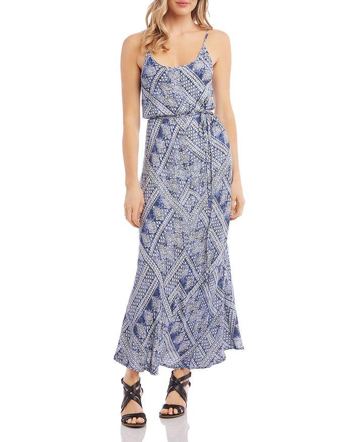 Karen Kane - Sleeveless Printed Maxi Dress