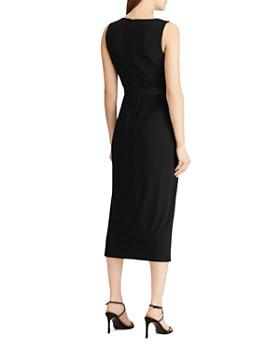 Ralph Lauren - Belted Midi Dress