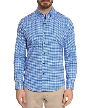 Robert Graham Prewitt Geometric-Print Classic Fit Shirt