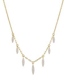 "Nadri - Breeze Dangle Necklace, 16"""