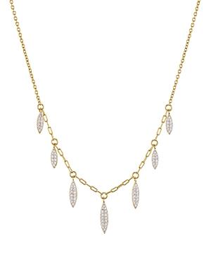 Nadri Breeze Dangle Necklace, 16-Jewelry & Accessories