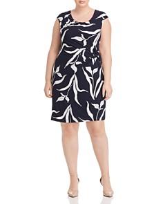 NIC and ZOE Plus - Iris Twist Dress