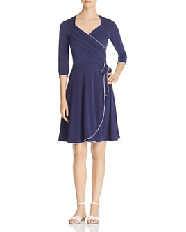 Leota - Faux-Wrap Dress