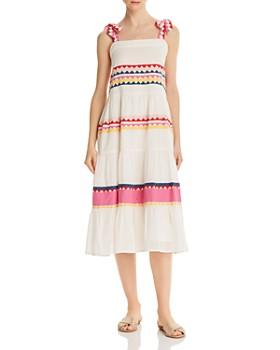 Carolina K - Iris Embroidered Dress