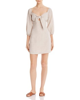 Suboo - Wanderer Tie-Front Mini Dress