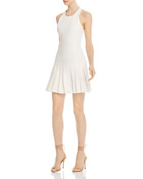 Amanda Uprichard - Gavin Pleated-Skirt Dress