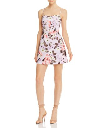 Armoise Floral Print Mini Dress by French Connection