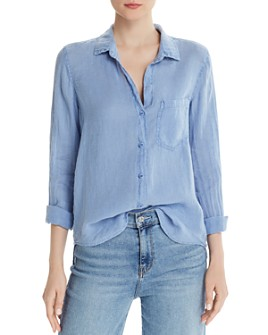 Bella Dahl - Linen Button-Down Top