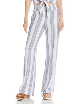 Bella Dahl - Striped Wide-Leg Pants