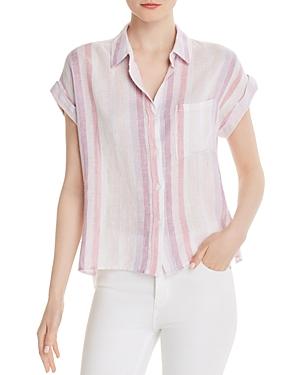 Rails Whitney Metallic Striped Shirt