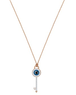 Swarovski - Symbolic Evil Eye Pendant Necklace, 14.9""