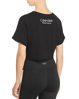Calvin Klein - Cropped Logo Tee