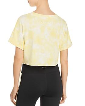 Calvin Klein - Tie-Dye Cropped Logo Tee