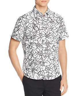 BOSS - Rash Short-Sleeve Floral-Print Regular Fit Shirt