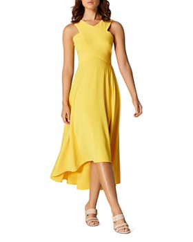 KAREN MILLEN - High/Low Midi Dress