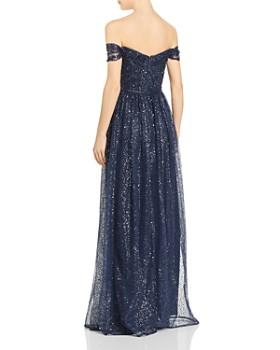 Aidan Mattox - Sequin Grecian Gown