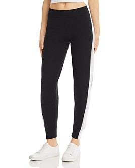 Minnie Rose - Side-Stripe Jogger Pants
