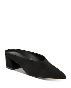 fb6556be059 Vince - Vince Women s Ralston Leather Mules ...