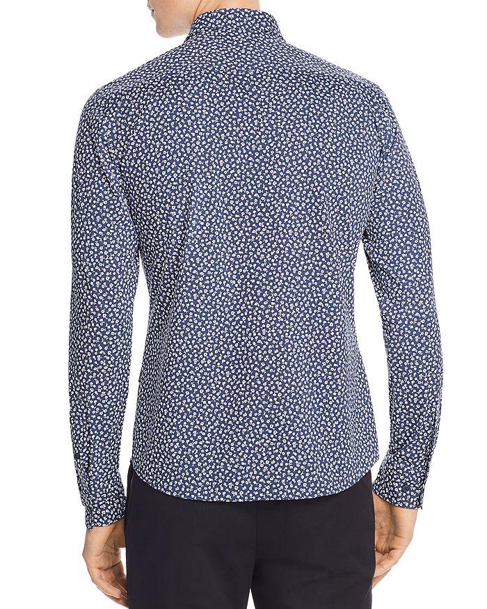 d18a15a91 BOSS Hugo Boss Ronni Floral-Print Jersey Slim Fit Shirt   Bloomingdale's