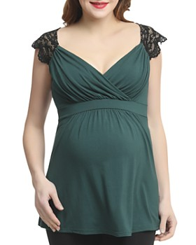 Kimi & Kai - Jeanette Babydoll Maternity Top