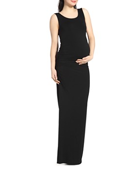 Kimi & Kai - Charlotte Sleeveless Maxi Maternity Dress