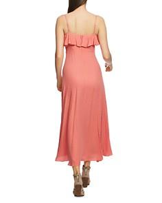 1.STATE - Sleeveless Ruffled Maxi Dress