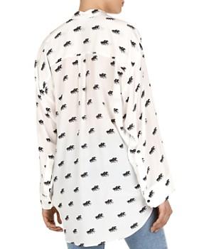 The Kooples - Coup de Chevaux Silk Shirt